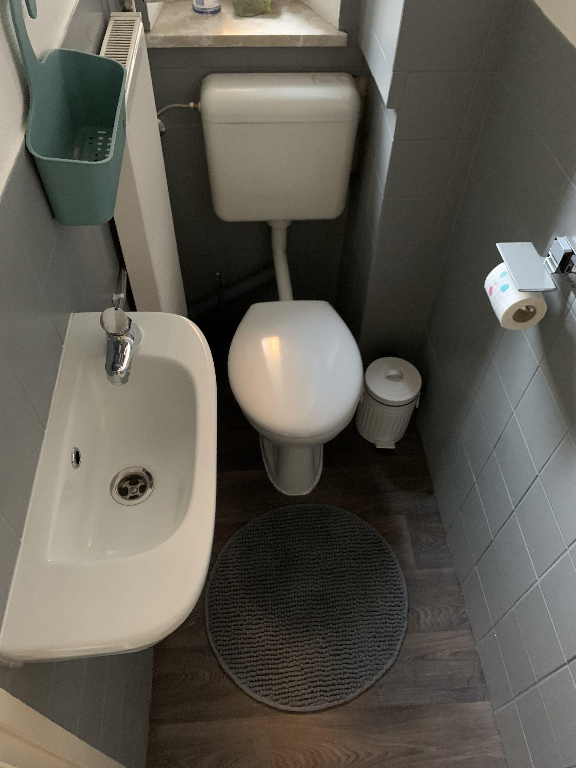 Kundenwaschbecken WC